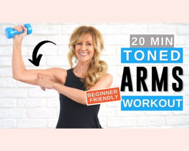 20 Minute Toned Arm Workout For Women Over 50 | Bye Bye Bat Wings Today!