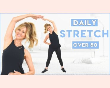 5 Minute Daily Stretching Routine For Women Over 50!